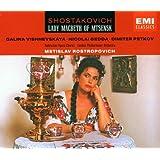 Shostakovich - Lady Macbeth of Mtsensk / Vishnevskaya, Gedda, Petrov, LPO, Rostropovich