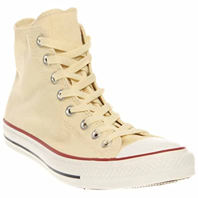 5bf1cc51fddf Image Unavailable. Image not available for. Color  Converse Chuck Taylor  All Star Hi Top Unbleached White ...