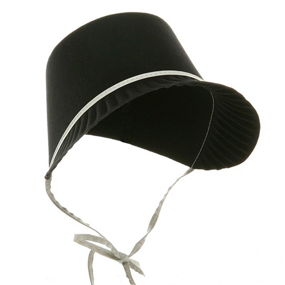 13ad27cf5e237 Amazon.com  Jacobson Hat Company Thanksgiving Permafelt Pilgrim Bonnet   Clothing