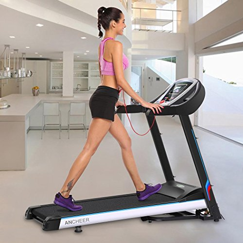 Declare 3.0HP Fitness Folding Electric Treadmill Exercise Equipment Walking Running Machine Gym Home