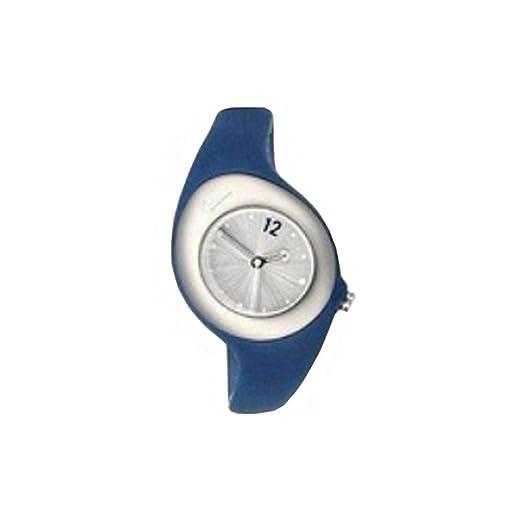Nike Reloj analogico para Mujer de Cuarzo con Correa en Caucho WR0070-410: Amazon.es: Relojes