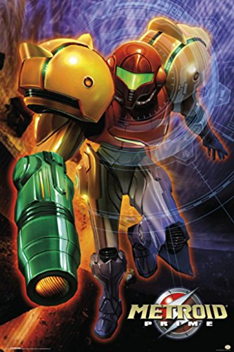 Metroid Prime Video Gaming Poster 24x36 Picture