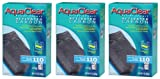 Hagen 3-Pack AquaClear 9-Ounce Activated Carbon Water Filter Insert for Aquarium (3-Pack)