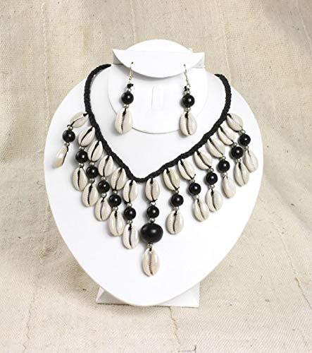 Cyberhustlin Cowrie Shell Jewelry Set ()