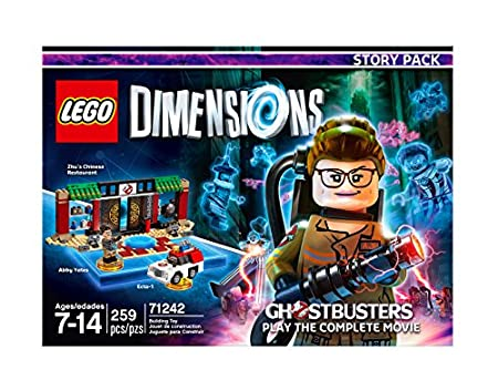 Warner Home Video -LEGO Dimensions Bundle: Simpsons Krusty Fun pack ,Ghostbusters Level Pack, & Ghostbusters Story Pack