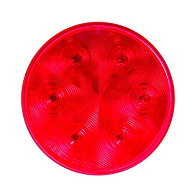 "Optronics STL13RH1BP STL13 Series Red 4"" Round Sealed LED Stop/Turn/Tail Light: Automotive"