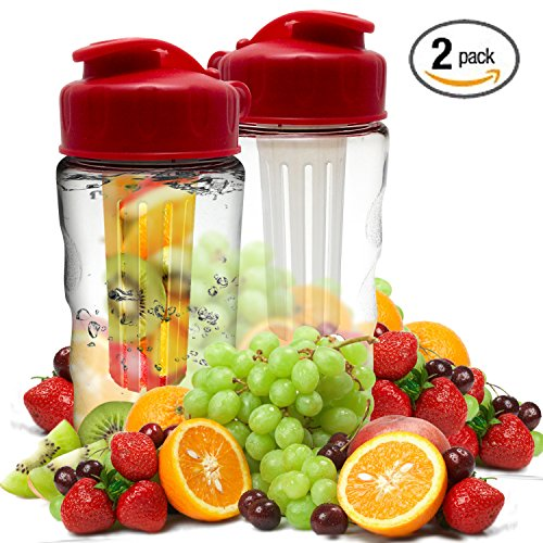 Infusion Water Bottle Infuser Pedometer