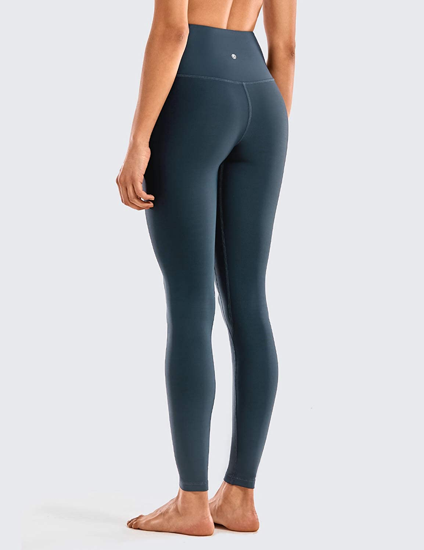 CRZ YOGA Mujer Leggins Deportivos Alta Cintura Yoga Pantalones Fitness Mallas-93cm