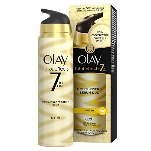 Price comparison product image Olay Total Effects 7-In-1 Anti-Ageing Moisturiser And Serum Duo 40Ml