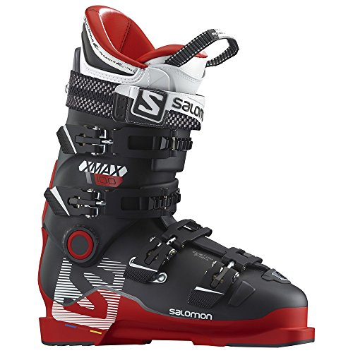 Salomon X Max 100 Ski Boot Men's- Red/Black 28.5