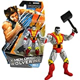 Hasbro Year 2009 X-Men Origins Wolverine Series 4-1/2 Inch Tall Action Figure - Comic Series COLOSSUS with Hammer