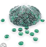 frosted glass gems - Down To Earth Forest Green Glass Gems - For Vase Fillers or Ponds, 2 lbs