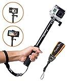 FloatPro Waterproof 3-in-1 Extendable Monopod Selfie Stick with Float ...