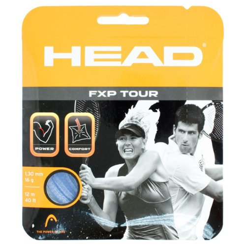 Head 281202-16LB:SET FXP Tour Liquid Blue 16G Tennis String