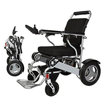 bangeran eléctrica silla con Joystick plegable ligera, sólo 50 lbs con pilas, 360 Lbs sujetalibros, ...