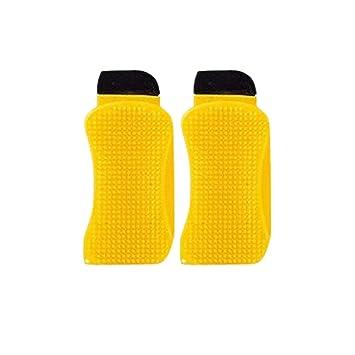 Esponjas de Silicona, Enjoyfeel Sponge Hero 3 en 1 Multifuncional Limpiador de Silicona para La Limpieza de La Cocina/Fregadero/Sartenes/Encimeras (2pcs): ...