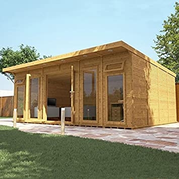 home office in the garden. 6m X 4m Fully Insulated \u0026 Customisable Garden Room Home Office By Waltons In The