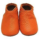Mejale Baby Shoes Soft soled Leather Moccasins Heart Infant Toddler Pre-Walker (24-36 Months/US 7-8C Toddler)