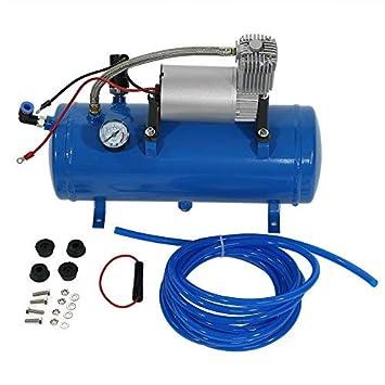 Zerone Bomba del Compresor de Aire, Inflador del Neumático del Compresor de Aire de 150psi 12V ...