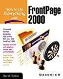How to Do Everything with FrontPage 2000