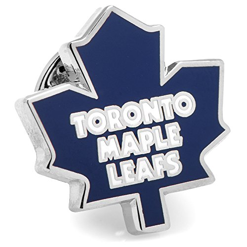 Toronto Maple Leafs Cufflinks - NHL Toronto Maple Leafs Lapel Pin, Officially Licensed
