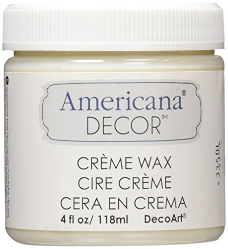 (DecoArt Americana Decor Creme Wax, 4-Ounce, Clear)