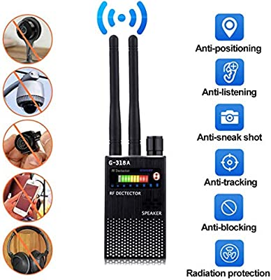 Anti Espía Inalámbrico RF Señal Detector Bug GPS Cámara ...