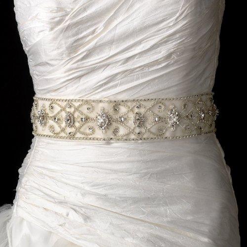Stunning Vintage Swarovski Crystal Beaded Wedding Bridal ...