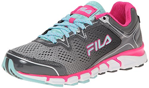 54b08f244cf8a Fila Women's Mechampagnenic Energized Running Shoe, White/Pink - Import It  All