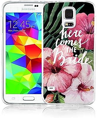 Amazon.com: Viwell Samsung Galaxy S5 caso, 2015 diseño único ...