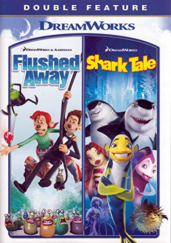 flushed away shark tale dreamworks double feature