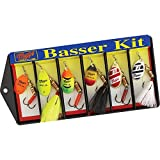 Mepps KHB3A #2 & #3 Aglia Assortment Basser Kit