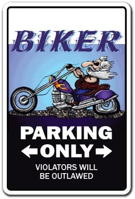 Indoor//Outdoor Bedroom Living Rooms Biker Sign SignMission Motorcycle Chopper Hog Bike Gift Rider Sign Wall Plaque Decoration Funny Home D/écor for Garages Offices
