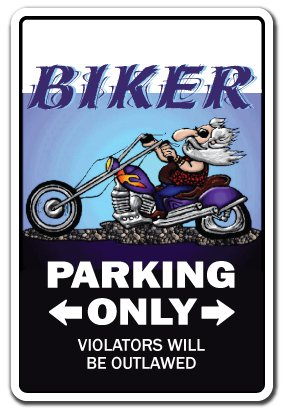 gn | Indoor/Outdoor | Funny Home Décor for Garages, Living Rooms, Bedroom, Offices Motorcycle Chopper Hog Bike Gift Rider Sign Wall Plaque Decoration (Motorcycle Plaque)