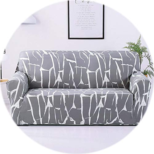 24colors Slipcover Stretch Four Season Sofa Covers Furniture Protector Polyester Loveseat Couch Cover Sofa Towel 1/2/3/4-seater,Color 15,Single seat ()