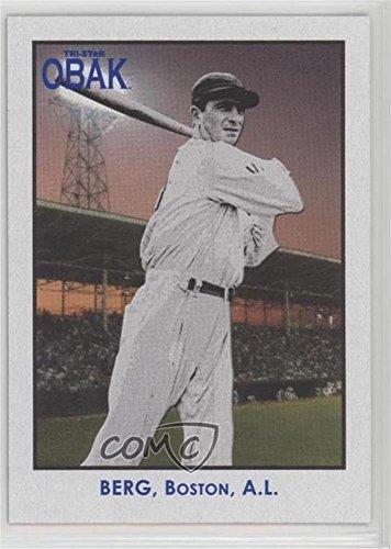 Amazoncom Moe Berg Baseball Card 2010 Tristar Obak Base 53