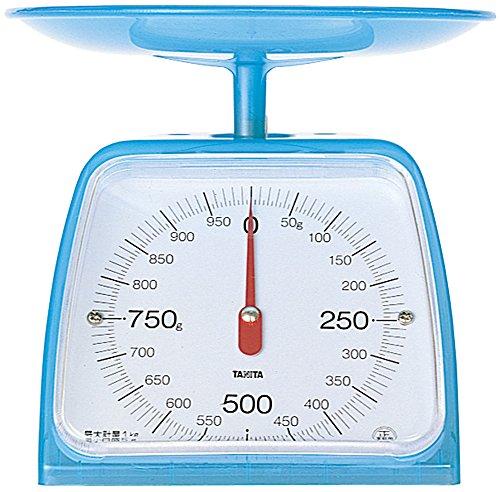 Tanita 타니타 저울질 스케일 요리 1kg 5g 블루 KA-001 CB 클리어블루 / 클리어화이트 / 클리어핑크 / 헬로키티