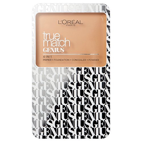 L'Oreal True Match Genius 4 in 1 Compact Foundation 7g Sealed 3W Golden Beige