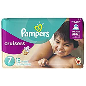 Pampers Cruisers Disposable Diapers Size 7 16 Count