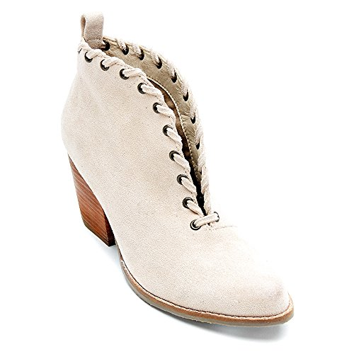 Coconuts by Matisse Womens Alabama Ankle Bootie Ivory Fabric