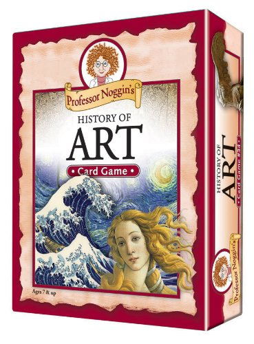 Professor Noggin's History of Art - A Educational Trivia Based Card Game For Kids (Art Card)