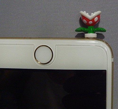 Super Mario Digital Item Mascot〜Piranha Plant Phone Jack Pin10mm