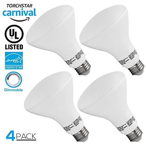 0 LED Light Bulb, 11W (65W Equivalent), Dimmable,2700K Soft White, 850lm, E26 Base, Wide Flood Bulb UL Listed, Great for Kitchen, Hallways, Bedrooms,Track Lighting,3 YEARS WARRANTY (Flood Bulb E26 Base)