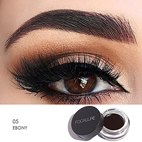 d3a1c833bf0 Buy 5 : Focallure 5 Colors Eyebrow Pomade Gel Enhancer Waterproof Durable  Eyebrow Cream Salon Eye Brow Tint Eye Liner Makeup Maquiagem Online at Low  Prices ...