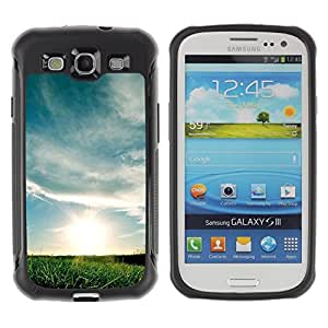 Suave TPU GEL Carcasa Funda Silicona Blando Estuche Caso de protección (para) Samsung Galaxy S3 III I9300 / CECELL Phone case / / Nature Beautiful Forrest Green 164 /