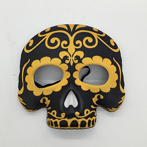 Embiofuels(TM) Mysterious Angel cloth mask scary terror ghost skull skeleton horror carnaval party masquerade halloween mask carnival terrible[ 3 ]