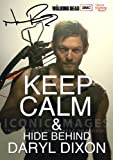 The Walking Dead Tv Print (11.7 X 8.3) Signed (Pre-print Autograph) Daryl Dixon Norman Reedus Keep Calm
