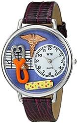 Whimsical Watches Unisex US0620050 Nurse 2 Analog Display Japanese Quartz Purple Watch