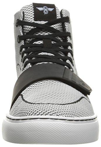 Creative Recreation Mens Cesario Vävda Mode Sneaker Svart / Vit