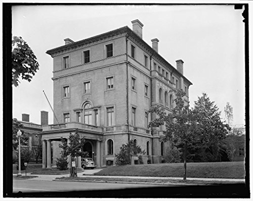 Vintography Reproduced 24 x 30 Photo Mexican Embassy, 2829 16Th Street 1939 Harris & Ewing a92 by Vintography